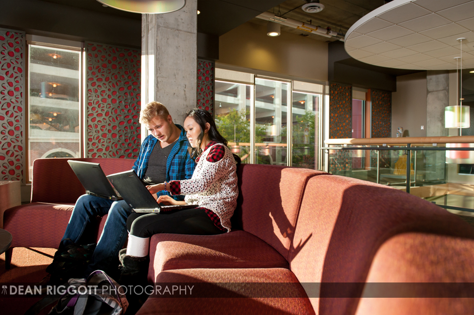 Recent work for the University of Minnesota—Rochester (UMR) taken at their downtown space, Pot Belly's and 318 Commons housing.