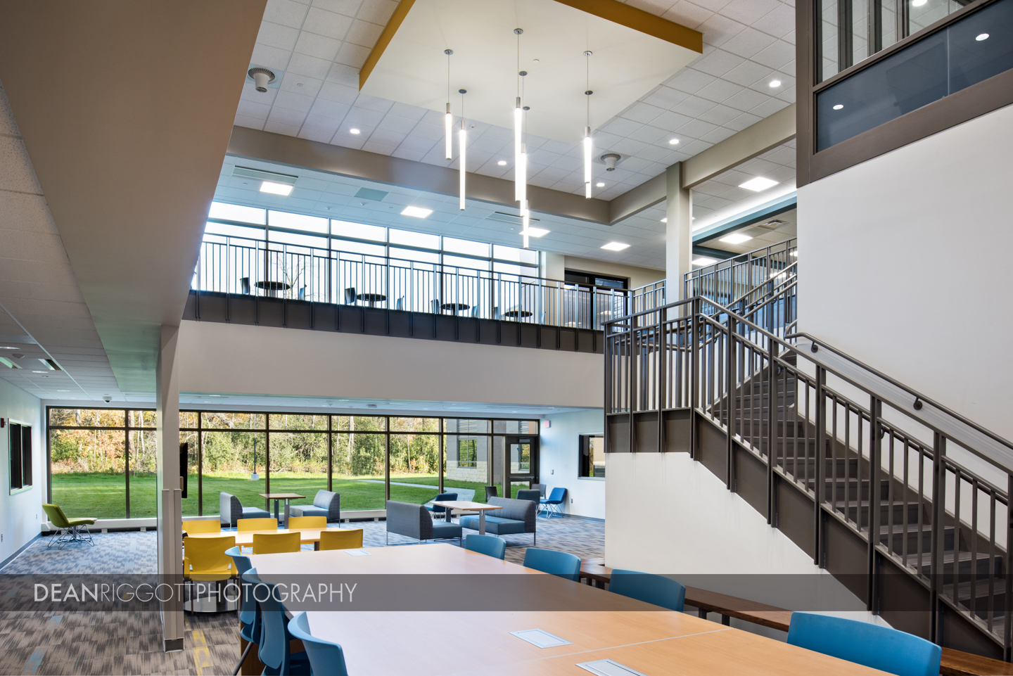 Highlights of Prairie Winds Middle School in Mankato, Minnesota. What a beautiful school by ISG, Wold Architects and Knutson Construction! © Dean Riggott Photography http://www.riggottphoto.com