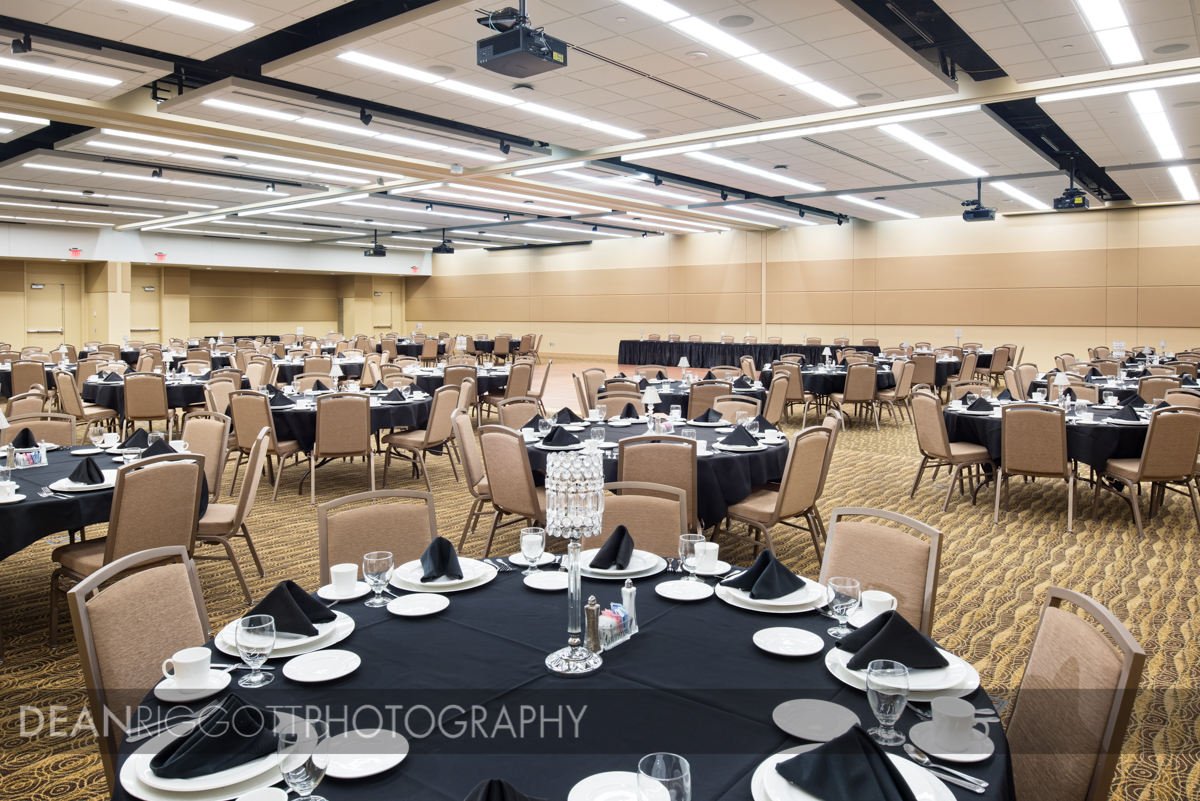 The recently completed Mayo Civic Center in Rochester, Minnesota, shot for Knutson Construction. © Dean Riggott Photography, http://www.riggottphoto.com