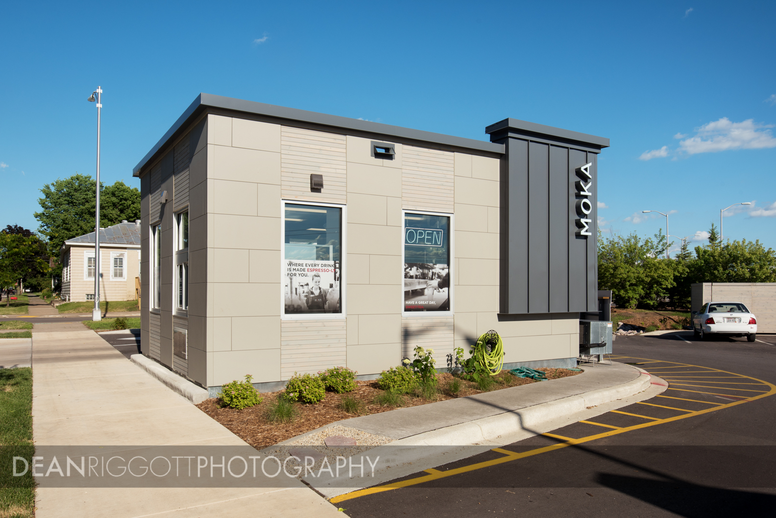 Moka Java in LaCrosee, WI, architectural photography for ISG.